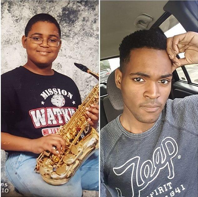 парень вырос