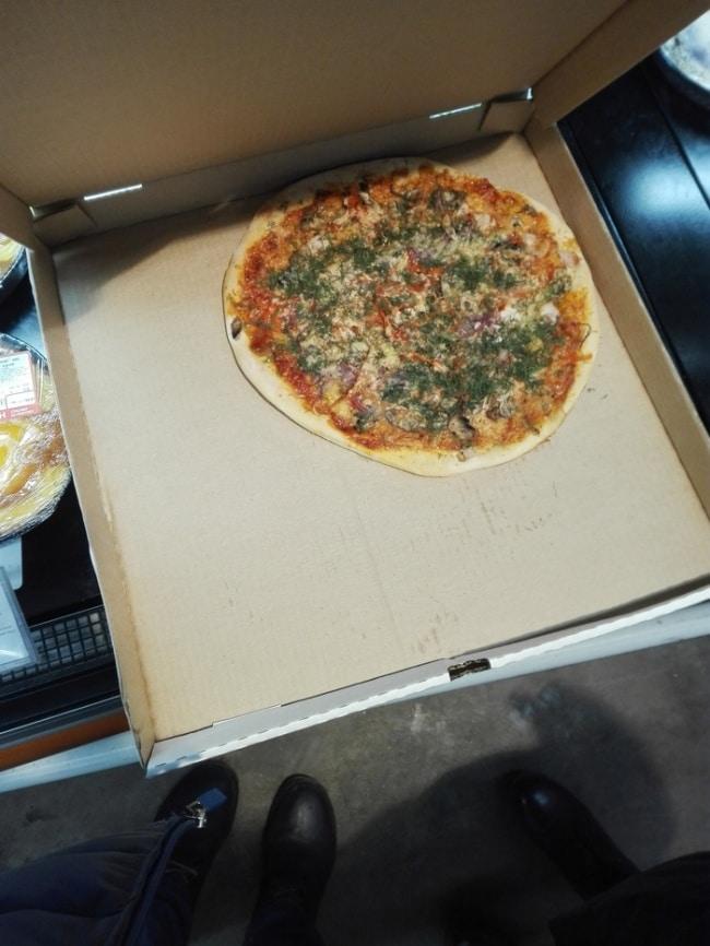маленькая пицца