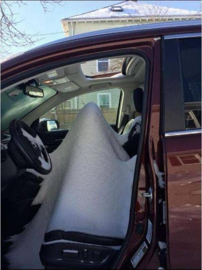 люк машины