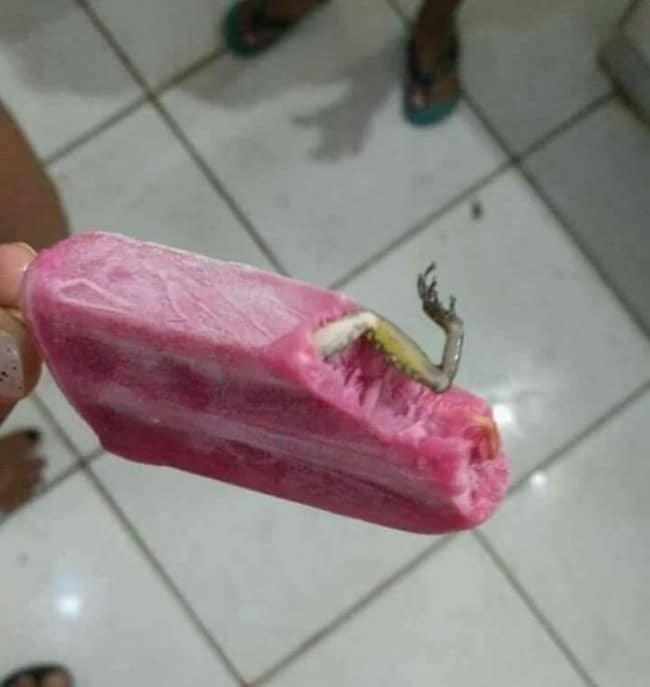 мороженое с жабьей лапкой