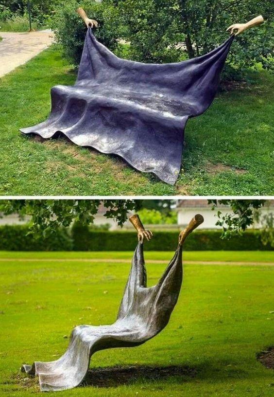 скамейка в парке