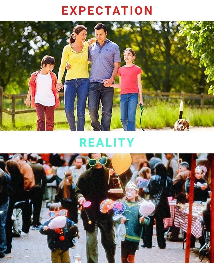 семейные прогулки