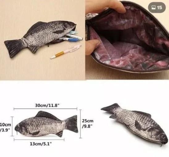 пенал в форме рыбы