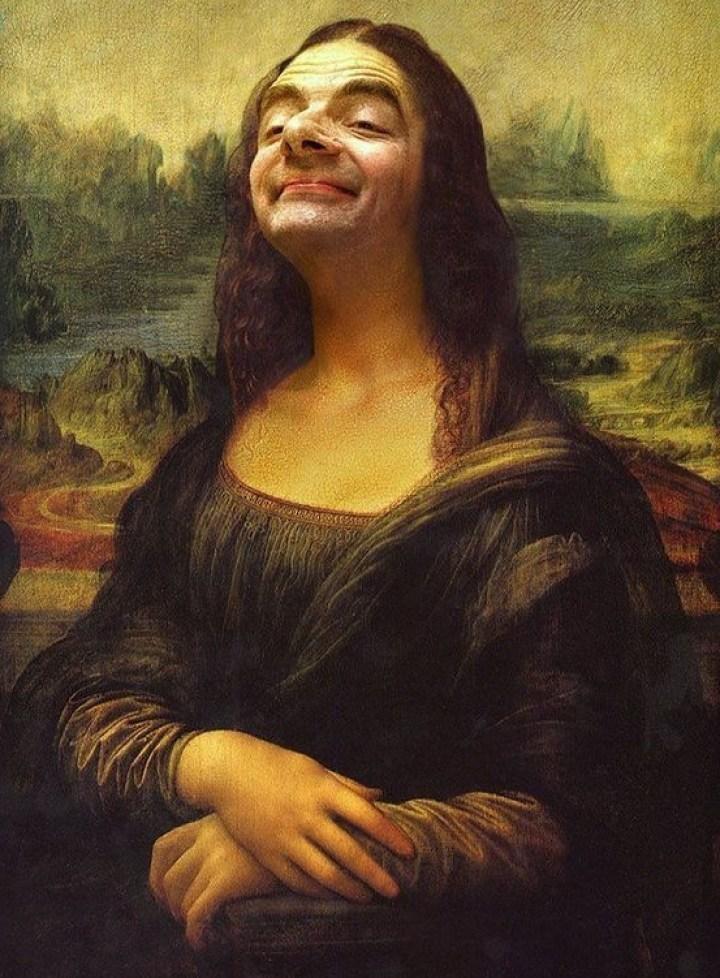 мистер Бин и Мона Лиза