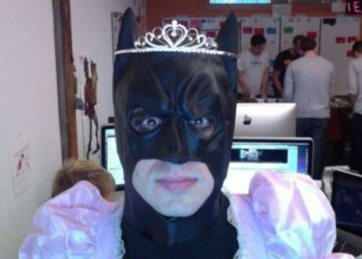 бэтмен с короной