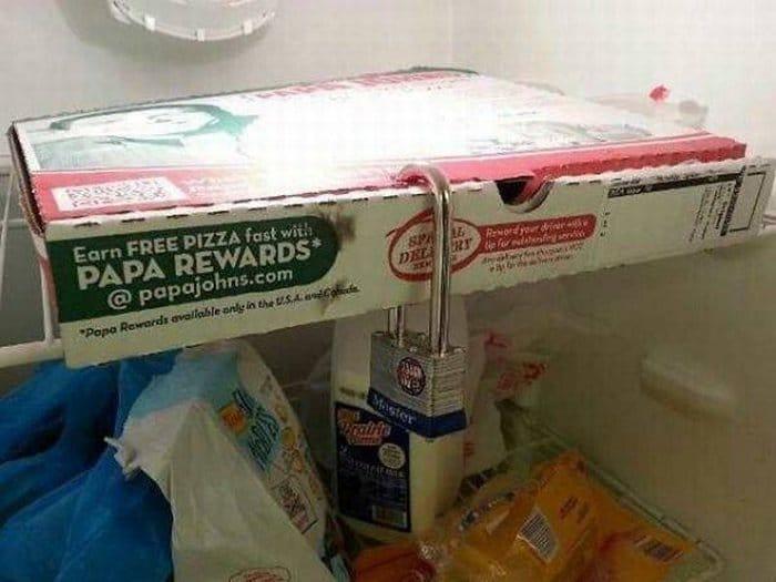 пицца под замком