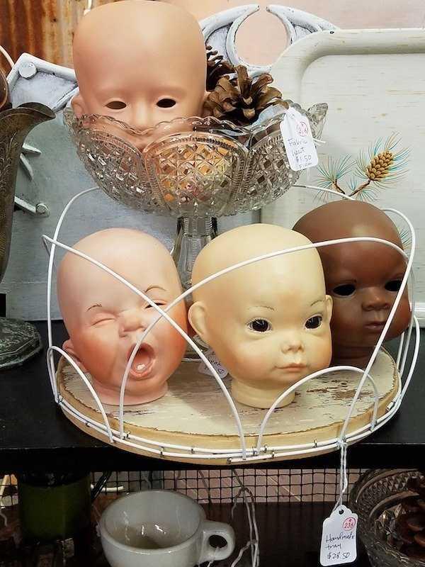 кукольные головы