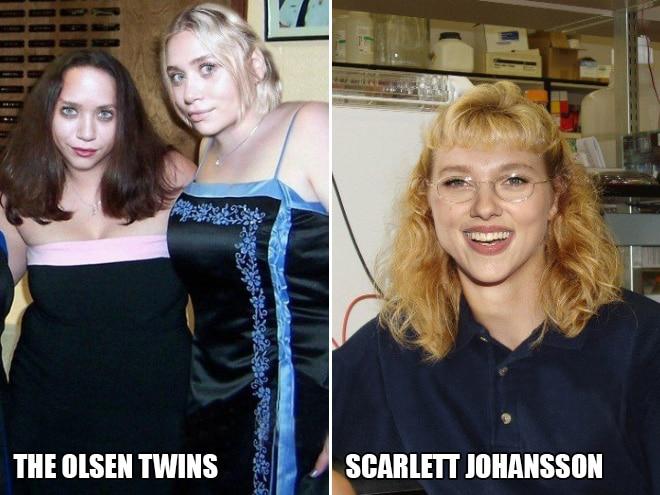 Сёстры Олсен и Скарлетт Йоханссон