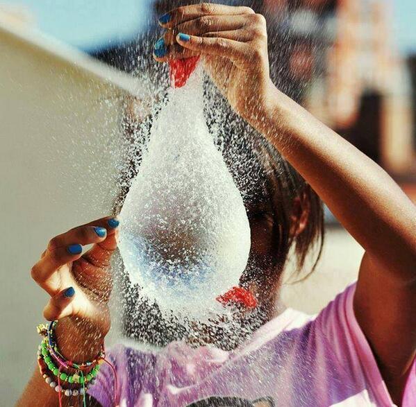 шарик с водой