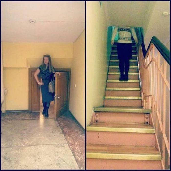 странная лестница