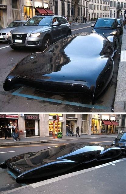 необычная машина