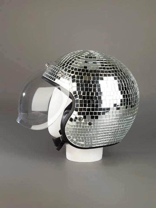 зеркальный шлем