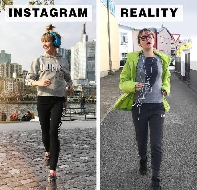 Блогер из Германии демонстрирует, как смотрится действительность за границами Instagram (15 фото)
