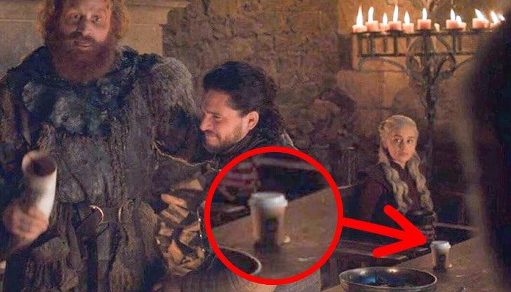 Мы нашли еще 9 киноляпов «Игры престолов», которые составят достойную компанию стакану из Starbucks