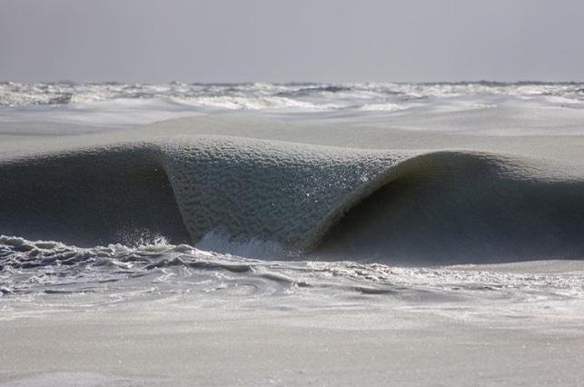 замерзшая волна