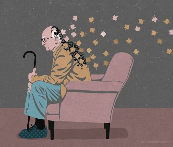 Карикатуры Джона Холкрофта бичуют пороки общества Джон Холкрофт, великобритания, искусство, карикатура, рисунки, социальные проблемы, творчество, художник