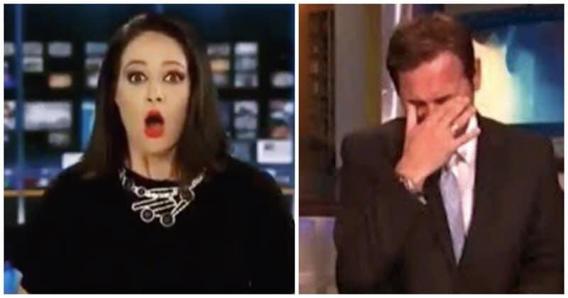 15 нелепых оговорок и смешных ляпов ведущих в прямом эфире в прямом эфире, ведущие новостей, видео, ляпы в эфире, прикол, смешно