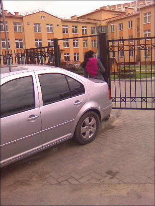 Я паркуюсь, как… (26 фото)