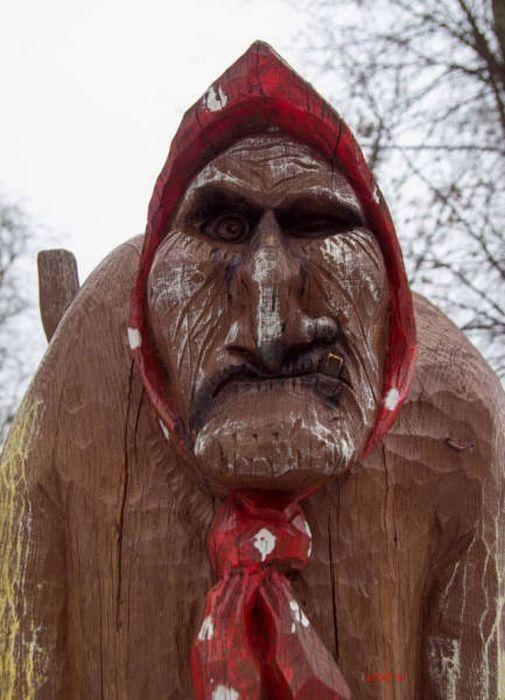 деревянная баба
