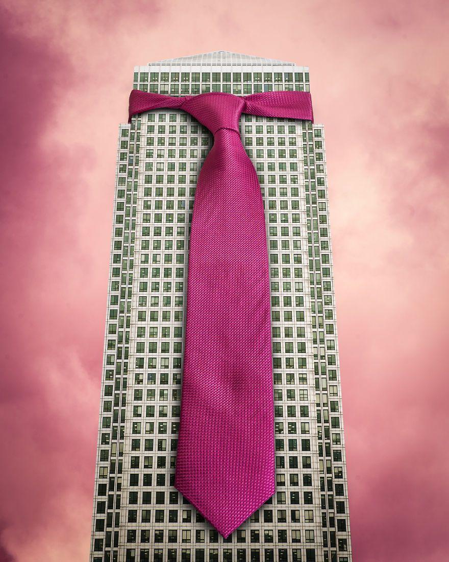 небоскреб в галстуке