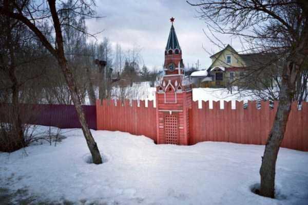 участок в виде кремля
