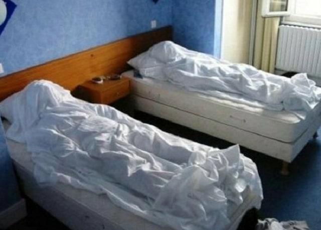 «Полотенечный» юмор от сотрудников гостиниц (15 фото)