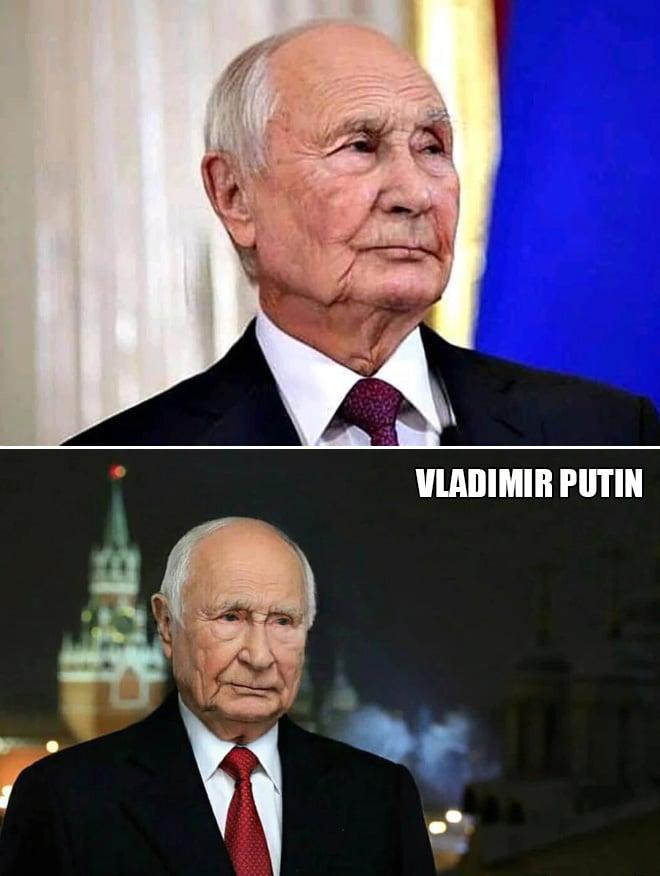 владимир путин в старости