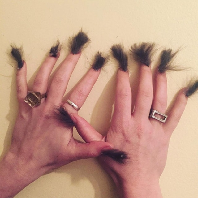 меховые ногти