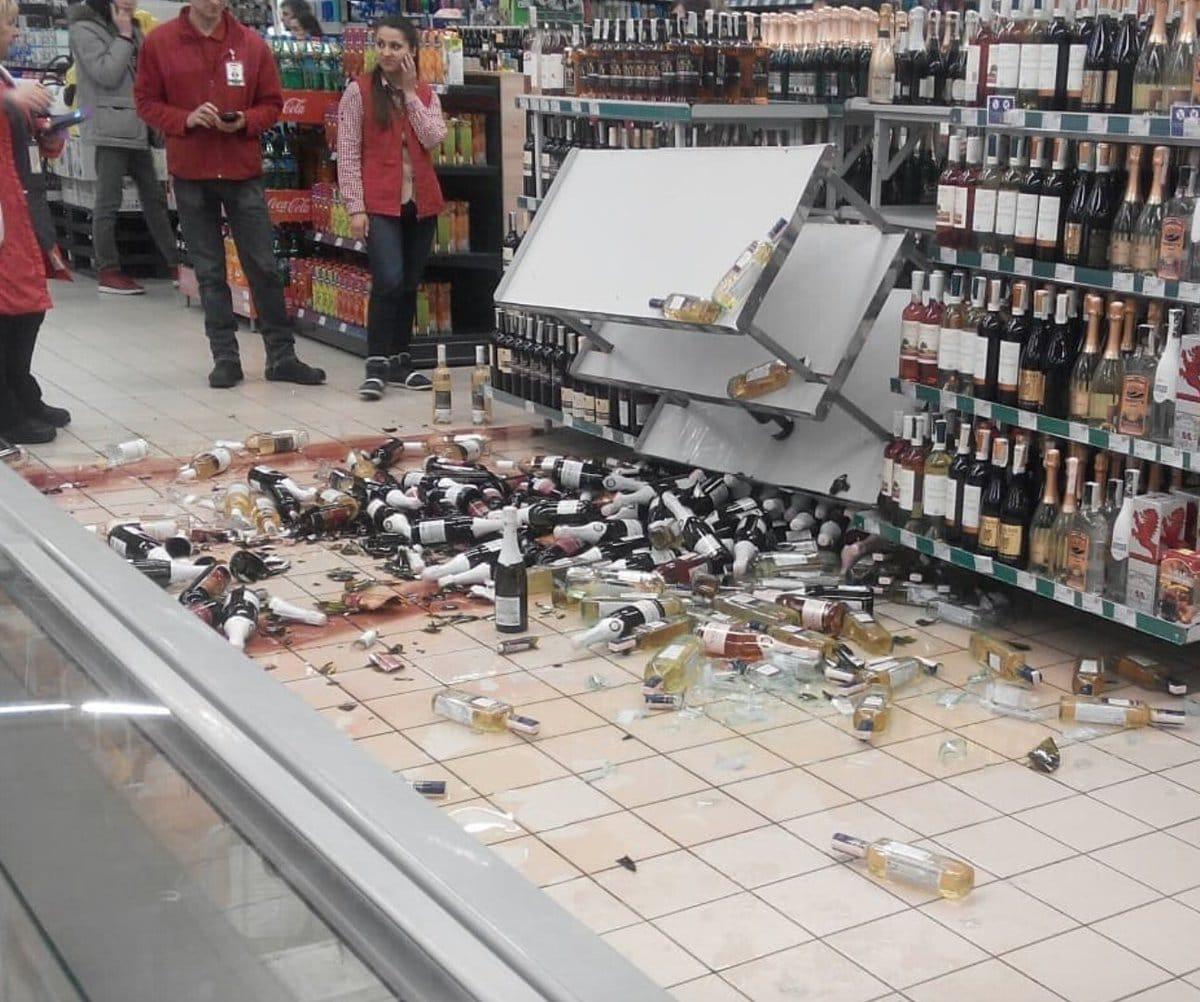 разбитый алкоголь