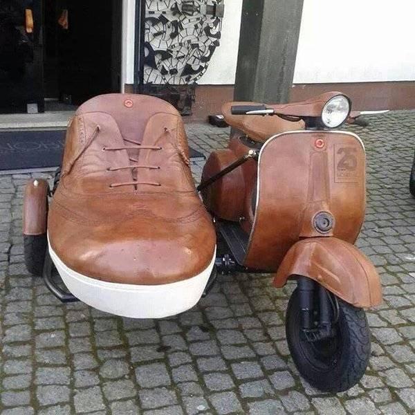 странный мотоцикл