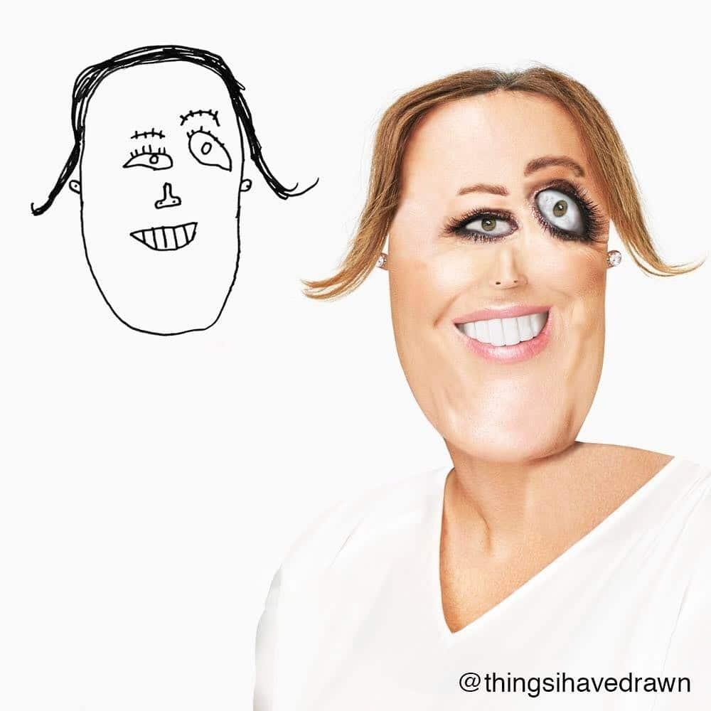 рисунок мамы