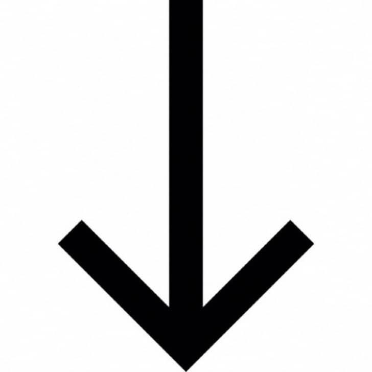 черная стрелочка вниз