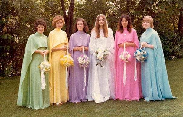 невеста с подружками невесты