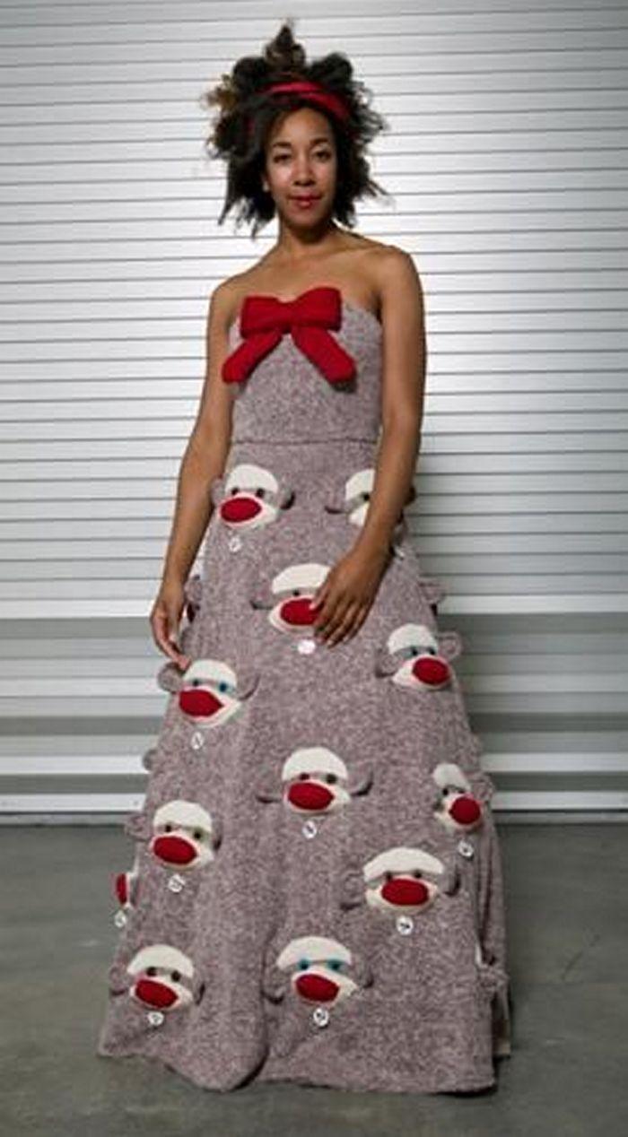 Картинки самые прикольные платья
