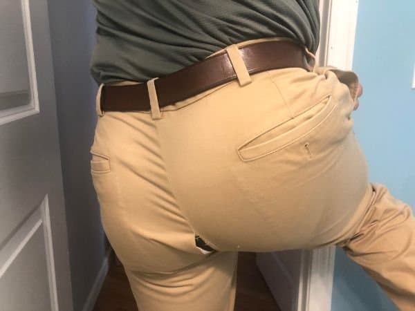 порванные брюки