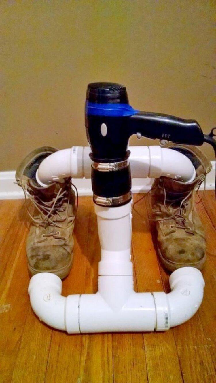 сушить обувь
