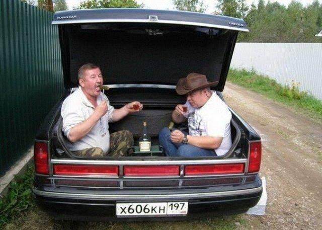 мужики в авто