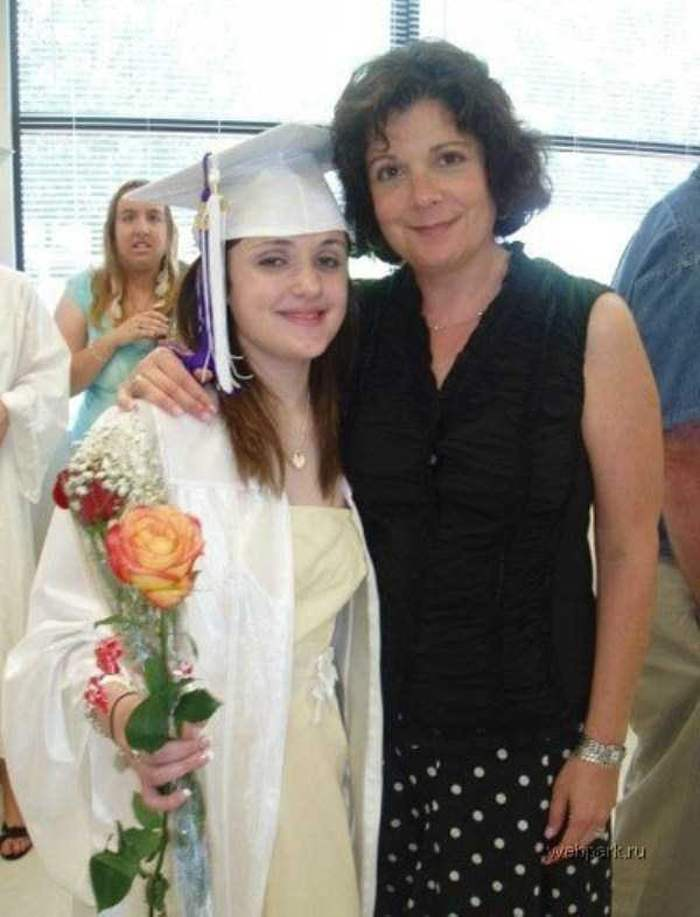 мама с выпускницей
