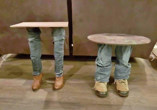 столики на ножках