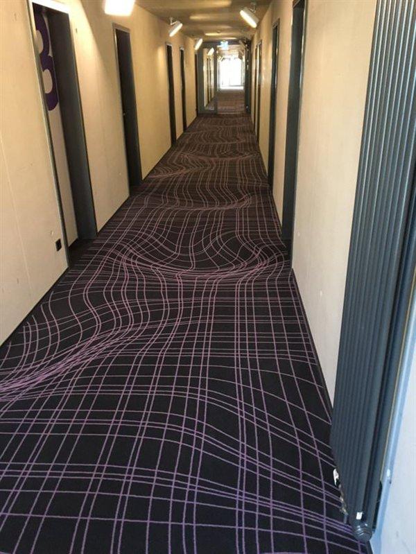 коридор в гостинице