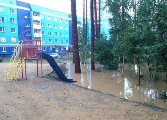 детская площадка в россии