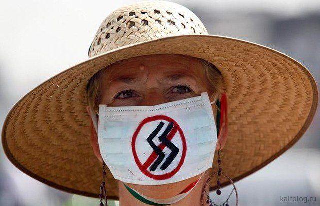 Нескучные маски. Великий карантин, день шестой (35 фото)