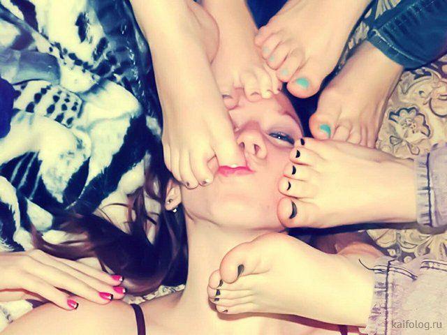 Пятничные прикольные девушки (35 фото)
