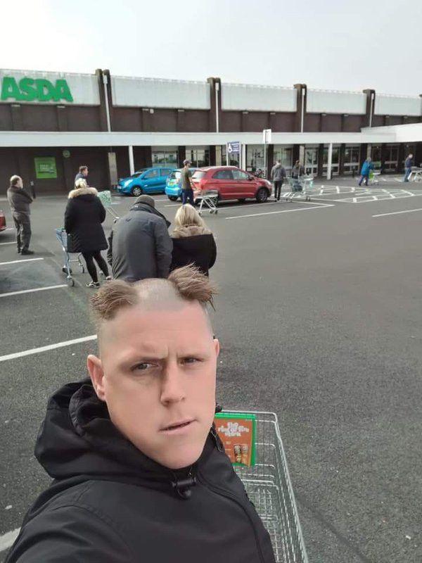 Когда все парикмахерские закрыты на карантин Приколы,myprikol,com