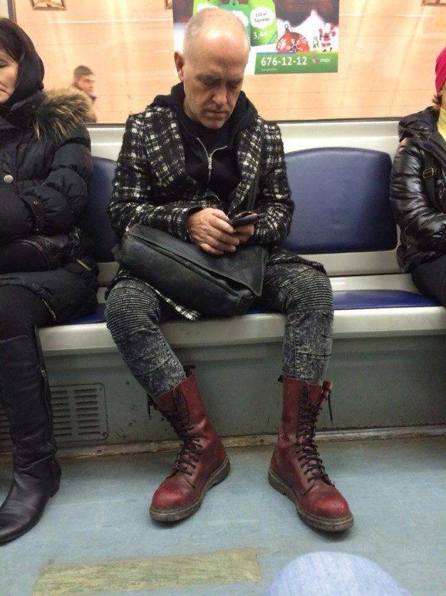 Самых странные персонажи из метро