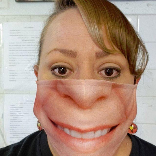 Прикольные маски для лица
