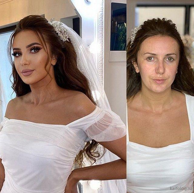 А после свадьбы она умылась (30 фото) после, умылась, свадьбы, только, макияжа, невестку, которые, теперь, посоветовать, мужчинам, доверяйте, девушкам, носят, постоянно, натуральную, тонны, макияжаThe, first, appeared, Шняги