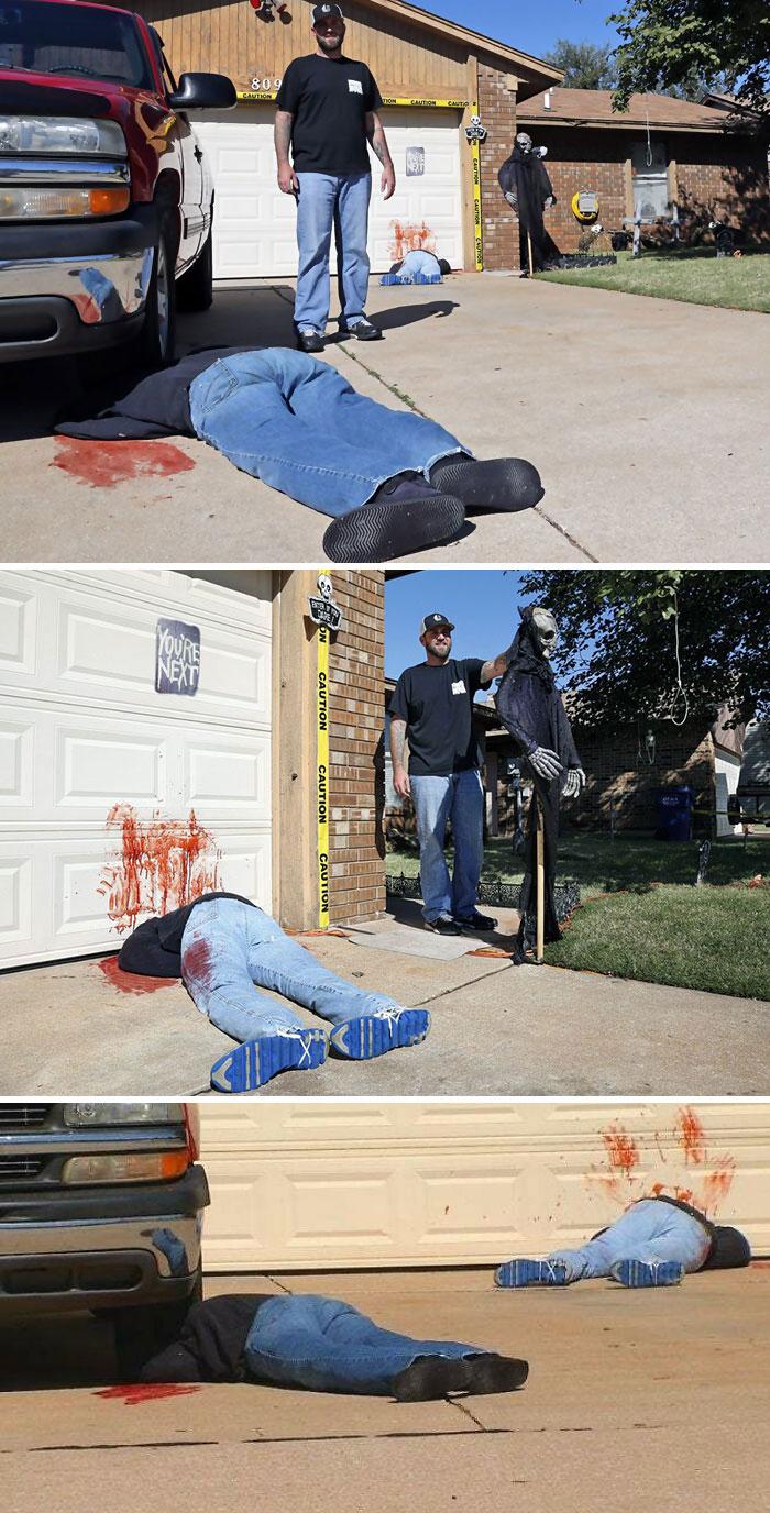 имитация двойного убийства