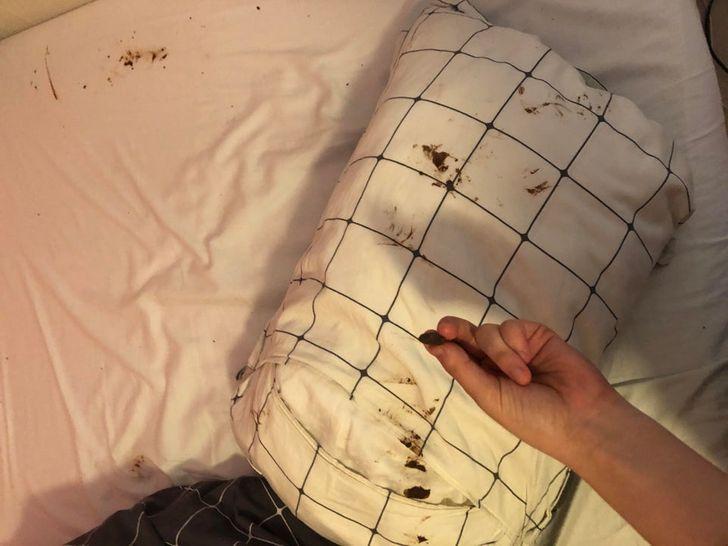 постельное белье в шоколаде