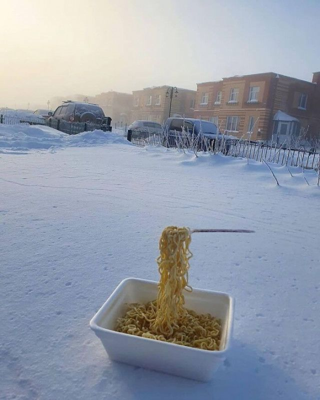 Зимние приколы из России